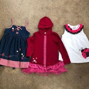 Girls 4 T dress Bundle